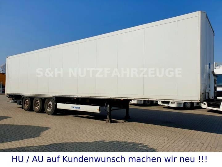 Krone Isolierte Koffer mit Doppelstock SAF Achse - 2013