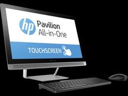 Hp Pavilion 24 A10 All-in-One (Core i5 8GB RAM/1TB HDD/Win 10/Touch)