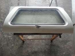 Nissan NP 200 Canopy Lid with Glass For Sale