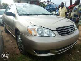 Foreign Used Corolla 2004