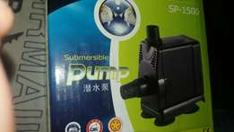 submerse pump for tanks and waterfalls