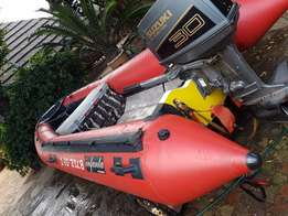 Infanta Boat with Suzuki DT30C Oil Injection motor & Trailer