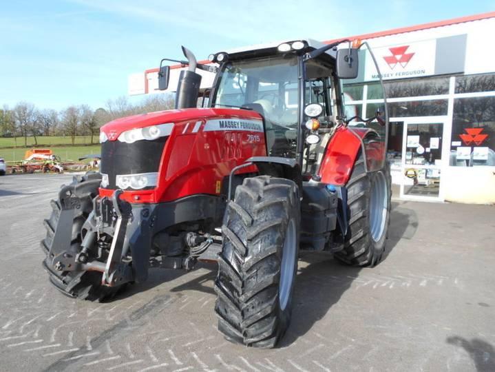 Massey Ferguson 7615 Dyna-6 Efficient - 2013