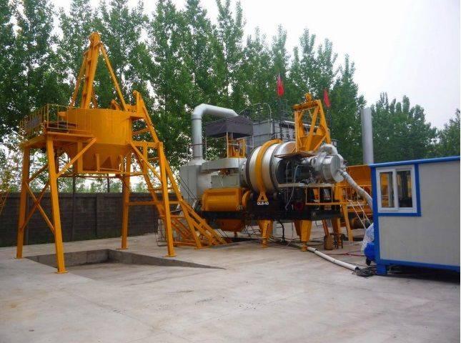 New STC QLB20 asphalt plant