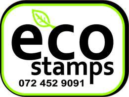 Eco Stamps (Rubber Stamps)