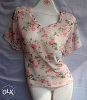 Flwer top pink make in nigeria