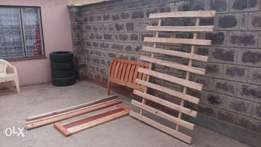 4 x 6 wooden bed