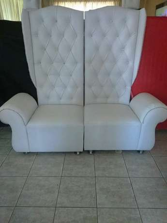 4 king and Queen chairs package Rossburgh - image 3