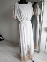 867b986d9d Wieczorowa długa Piękna Max Sukienka Firmy Asos R.36(S)UK8