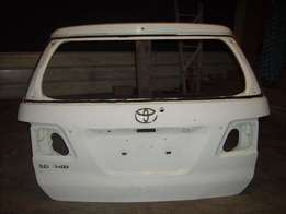 2008 /09 toyota fortuner tailgate shell for sale