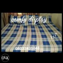 Bedsheet with 4 pillowcases 7x7