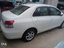 White Belta 2010 model Toyota KCP number