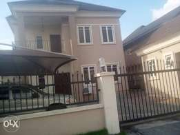 4Bed duple with a 2 Bedroom flat BQ at Ajah 4sale