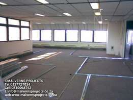 Drywall Partitions Bulkheads Suspended Ceilings