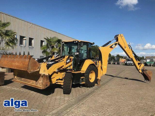 Caterpillar 428f2 4x4, Neuwertiger Zustand!!! - 2016