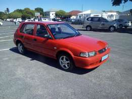 Toyota Tazz with aircon