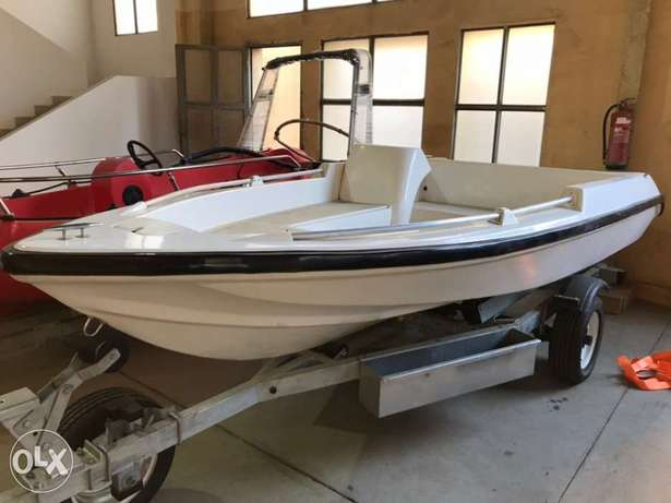 canyon Speed boat 14 ft مركب سبيد بوت كانيون