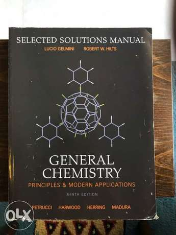 General Chemistry-selected solutions Manual