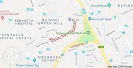 1/2Acre Plot at Upperhill, Kiambere Rd at 200M Ideal 4 Commercial blng