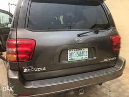 Super neat cheap nigeria used Toyota Sequoia