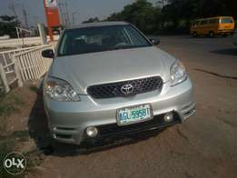 Toyota Matrix metallic silver