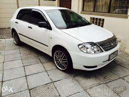 cars for sale toyota runx and corolla