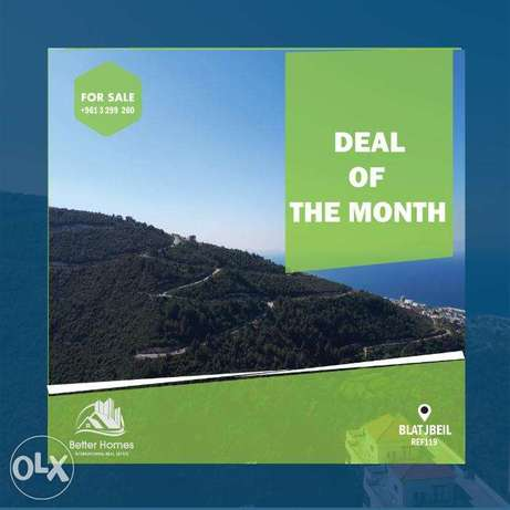 building for sale with 3 apartments IN BLAT JBEIL