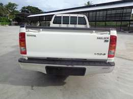 At a good price Single Cab Toyota hilux Pearl white