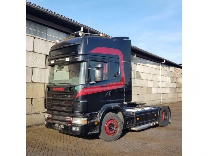 Scania 164 580 manual retarder - 2018