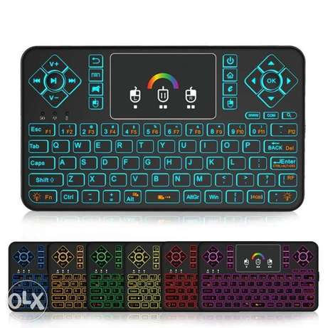 Q9 Multifunctional Mini 2.4G Wireless Keyboard with Touchpad
