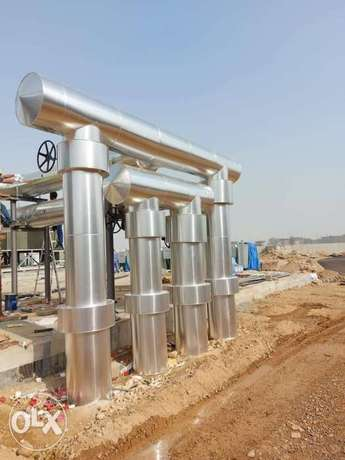 Ducting, Round Insulation and Cladding service