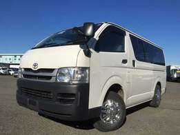 2009 toyota Hiace manual 7L just arrived.