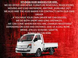 Hyundai H100 Bakkie for Hire anywhere, anytime