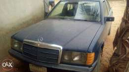 Benz 190 with Tokunbo C-Class Engine