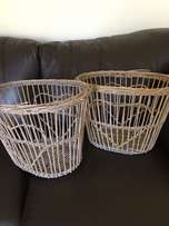Baskets with Heart detail
