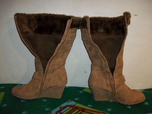 Жіночі замшеві чоботи демосезонні женские замшевые демисезонные сапоги  Батыев - изображение 4 31a368426577d