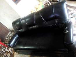 Set of Leather Chairs for Sale