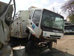 Isuzu frr kCC with damaged chassis