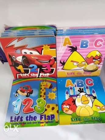 Lift the flap ABC and 123