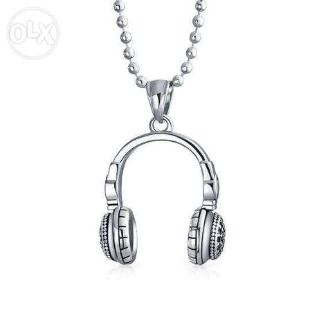 Headset necklace