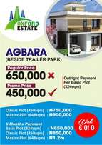 Invest in a plot of land today at Agbara