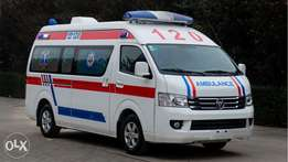 New Foton Rhd Ambulance