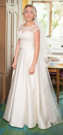047ed9a8ae902df Свадебное платье айвори ivory атласное: 4 500 грн. - Свадебные ...