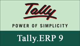 Tally ERP 9 software of accounts