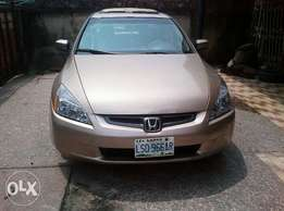 Honda accord 2005 model for fast sell just like toks
