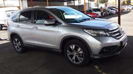 2014 Sliver Honda CRV 2.4 Executive Auto for sale