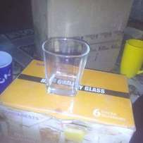 Half-a dozen Whisky glasses at ksh.500