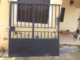 Metal Burglary protector for front and back sit-outs.