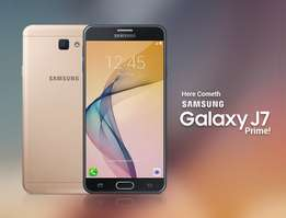 new brand samsung j7 prime at 27999,samsung A5 at 25500 cbd shop call