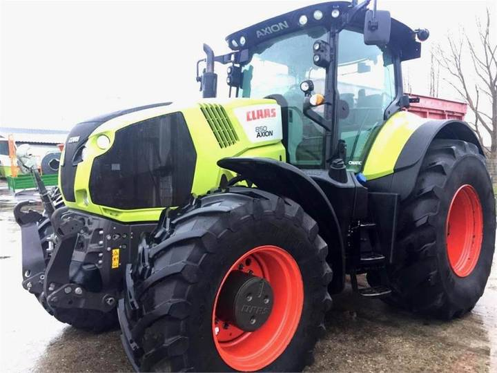 Claas Axion 850 C-matic, Bj. 15, 3.600 Bh - 2015